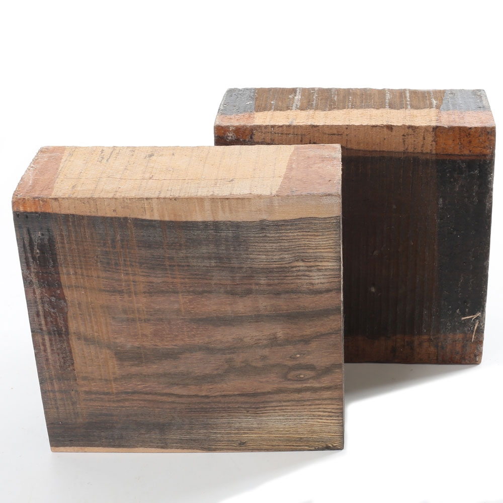 Bocote Square Bowl Blanks
