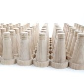 Tapered Wooden Dowels