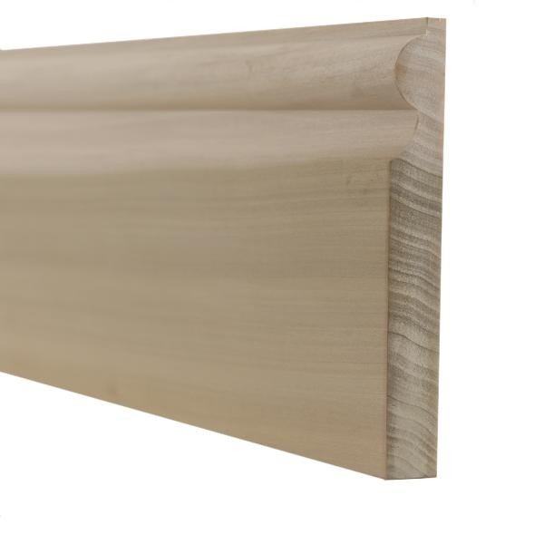 Tulipwood torus skirting boards and architrave