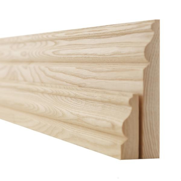 Ash ogee skirting boards and architrave