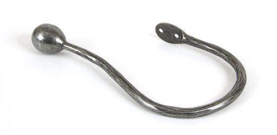 From The Anvil Curtain Tie Back - Pewter Patina
