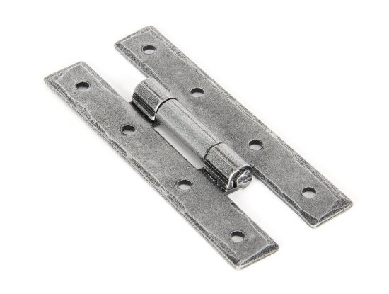 """From The Anvil Pewter 3 1/4"""" H Hinge (pair)"""