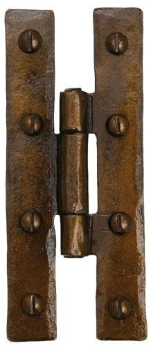 From the Anvil Bronze H Hinge (Pair)