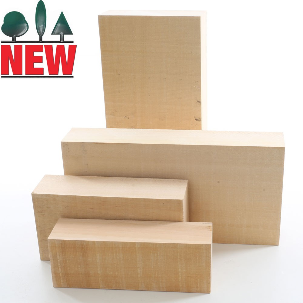 Lime Carving Blanks, 54mm thick, Sawn, Rectangles
