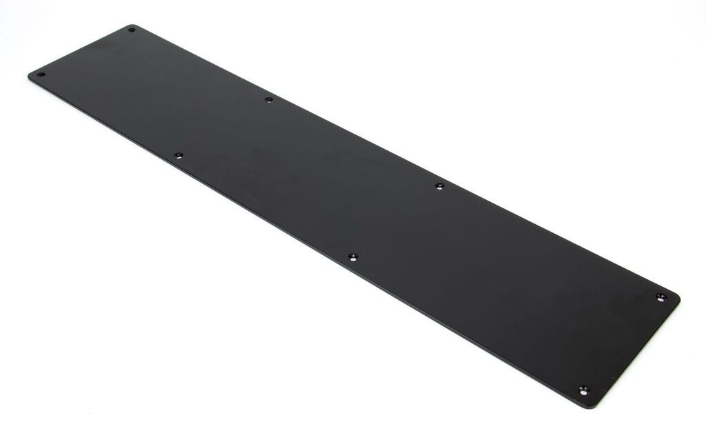 From The Anvil Black 700mm x 150mm Kick Plate