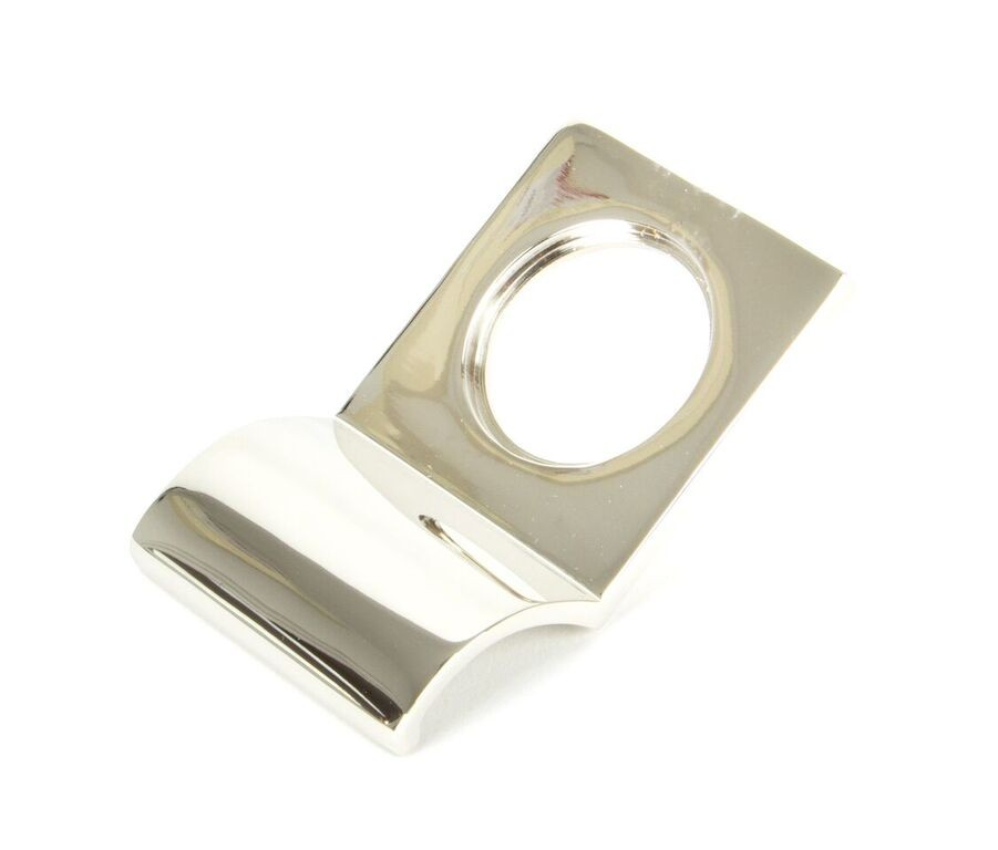 From The Anvil Polished Nickel Rim Cylinder Pull