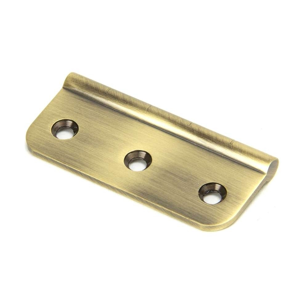 From The Anvil Aged Brass 75mm Dummy Butt Hinge