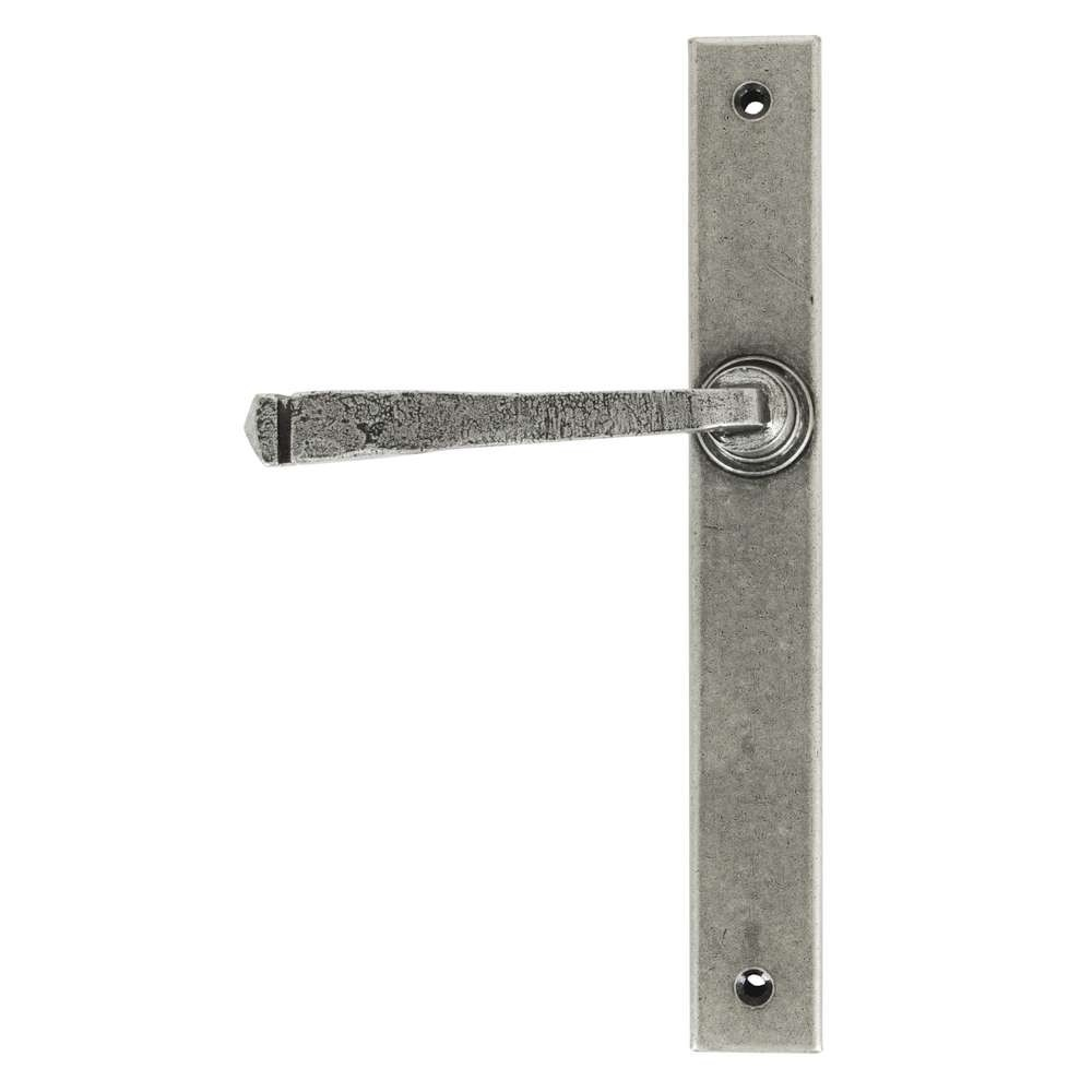 From The Anvil Pewter Avon Slimline Lever Latch Set