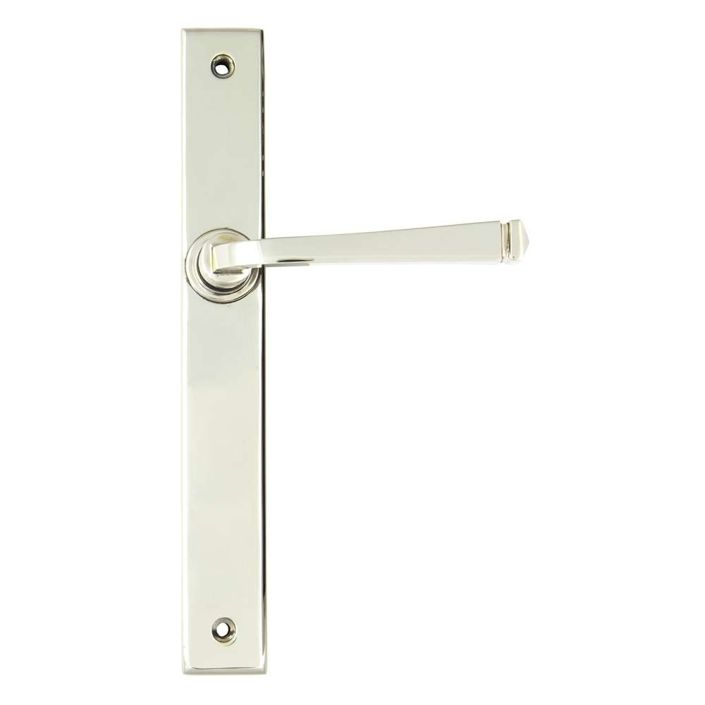 From The Anvil Polished Nickel Avon Slimline Lever Latch Set