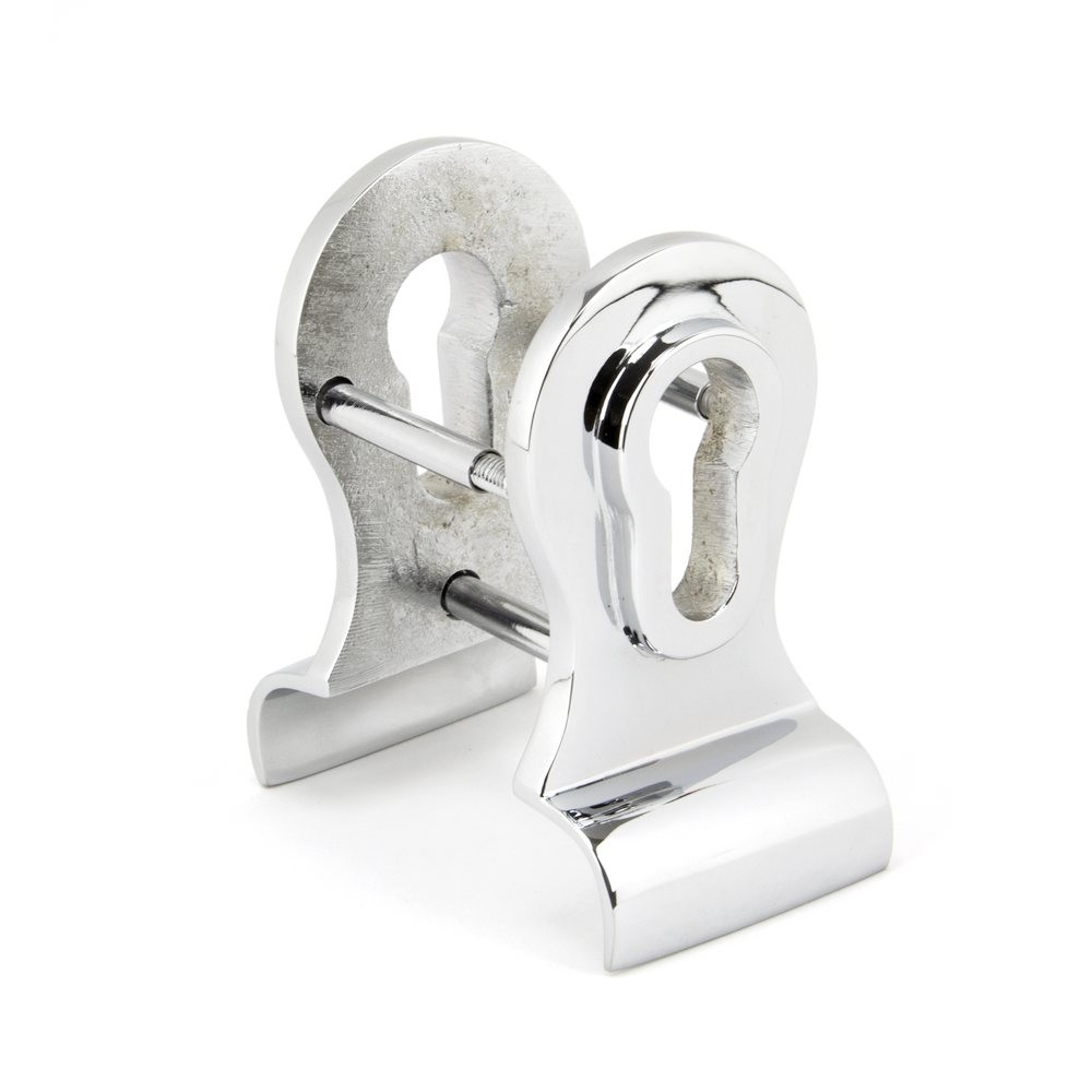 From the Anvil Polished Chrome 50mm Euro Door Pull (Back to Back fixings)