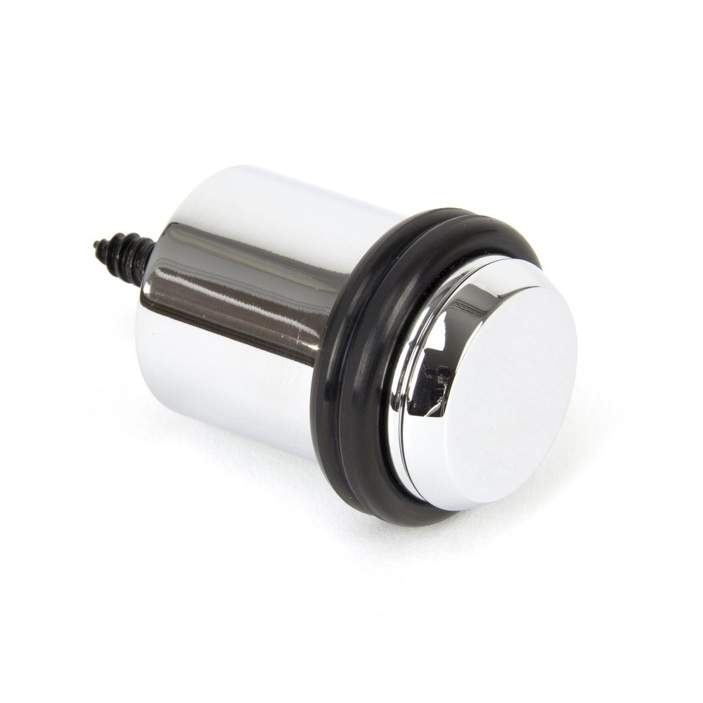 From the Anvil Polished Chrome Floor Mounted Door Stop
