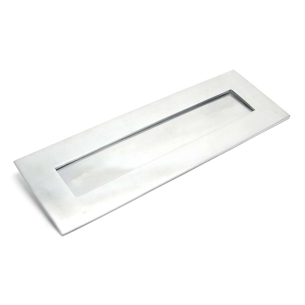 From The Anvil Satin Chrome Large Letter Plate