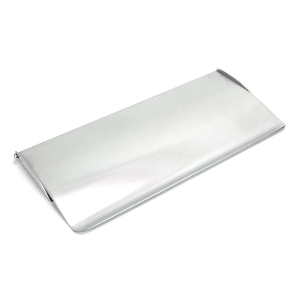 From The Anvil Satin Chrome Small Letter Plate Cover