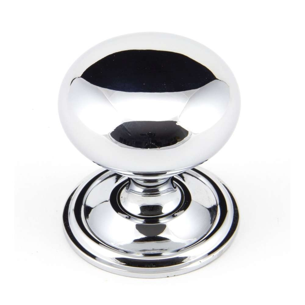 From The Anvil Polished Chrome 38mm Mushroom Cabinet Knob