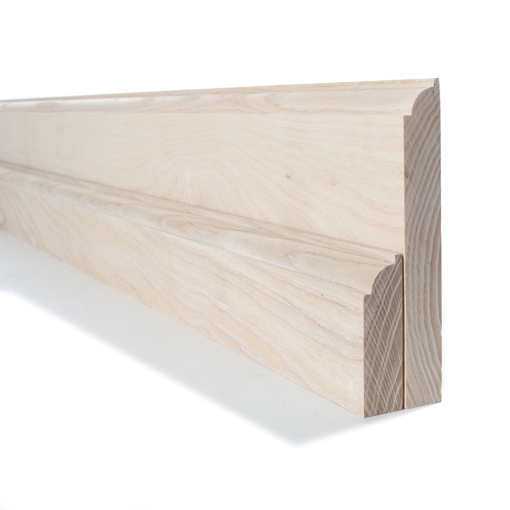 Ash Ovolo Skirting and Architrave