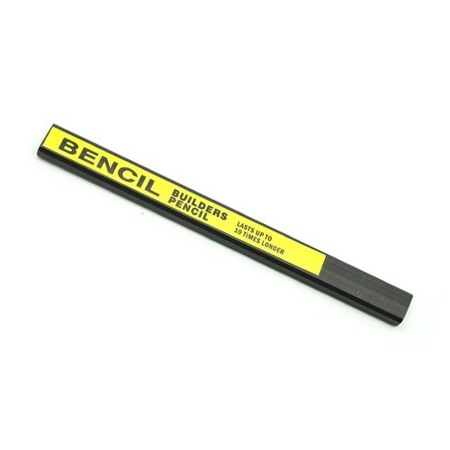 Bencil HB Flexible Carpenters Pencil (pk 2)
