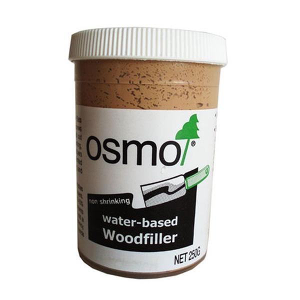 Osmo Water-based Woodfiller Mid Oak 250g