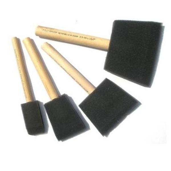 Chestnut Foam brushes