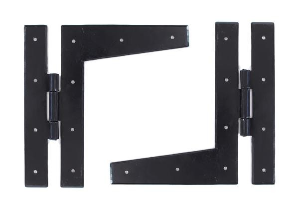 From The Anvil Black 9'' HL Hinge (pair)
