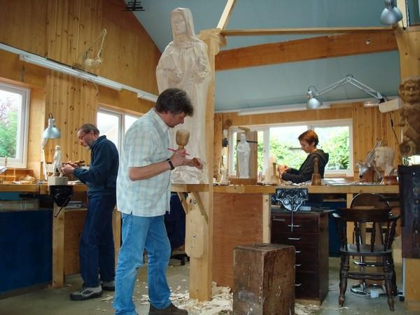 Woodcarving Course with Mike Painter