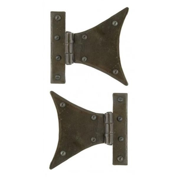 """From The Anvil Beeswax Half Butterfly Hinge 3"""" (pair)"""