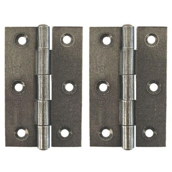 From The Anvil Pewter Patina 3inch Butt Hinge (pair)
