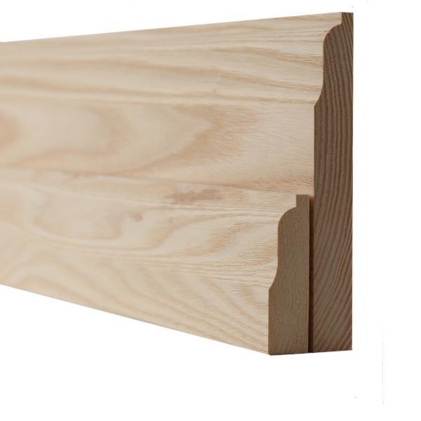 Ash Lambs Tongue Skirting Boards and Architrave