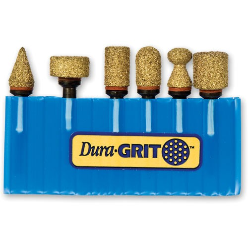 Dura-GRIT 6 Piece Woodcarving Set