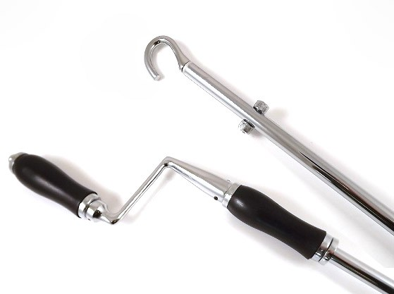 From The Anvil Polished Chrome Telescopic Window Winder 1-2m