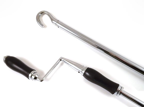 From The Anvil Window Winder - Polished Chrome