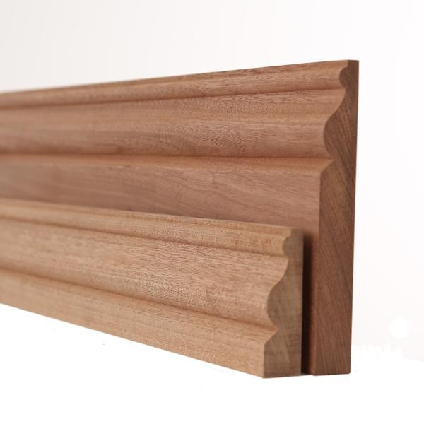 Sapele ogee skirting and architrave