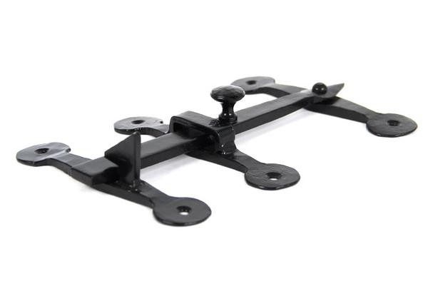 From The Anvil Black Oxford Privacy Latch Set