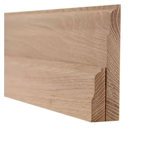 Oak Lambs Tongue Skirting and Architrave