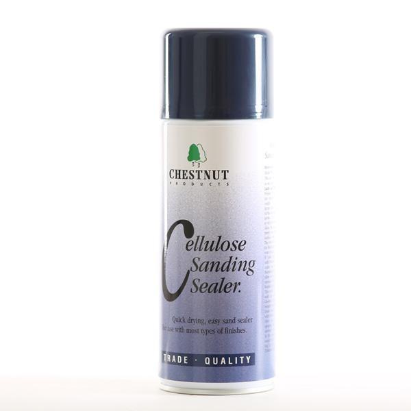 Chestnut Cellulose Sanding Sealer 400 ml Aerosol