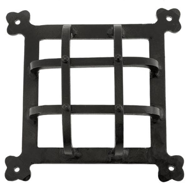 From the Anvil Black Raised Door Grill