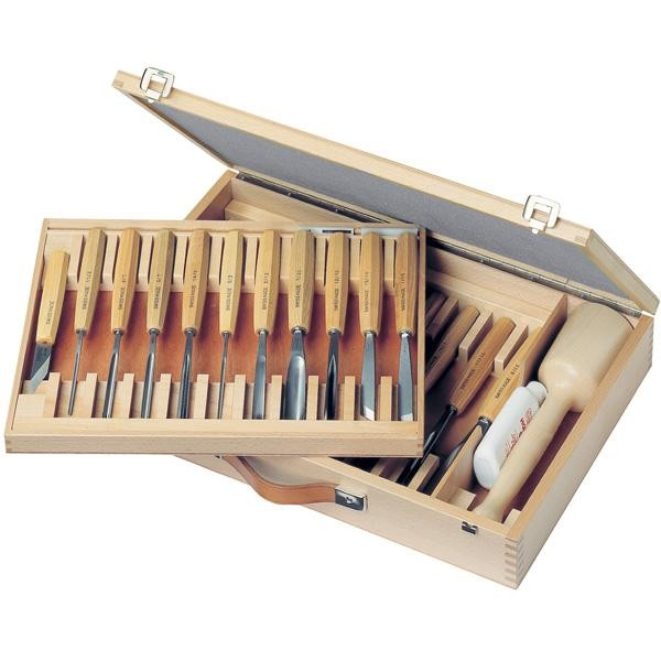 Pfeil 25 Piece Woodcarving Set in Box HBS25
