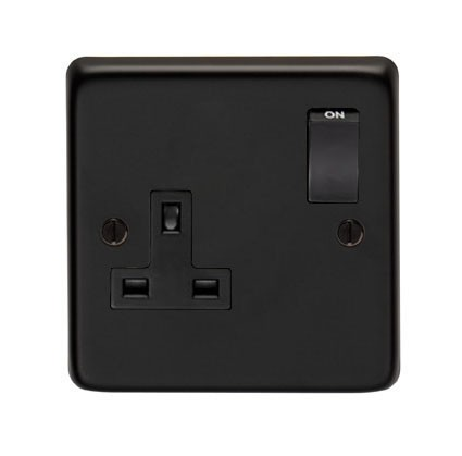 From The Anvil MB Single 13 Amp Switched Socket