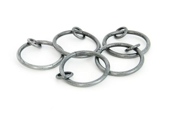 From The Anvil Pewter Curtain Ring