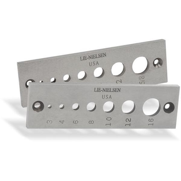 Lie Nielsen Dowel Plates