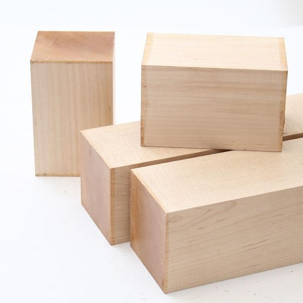 Maple Spindle Blanks