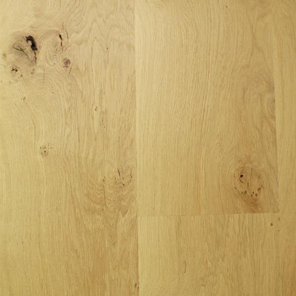 Solid European Oak Flooring Unfinished 2-2.4m 140mm Wide
