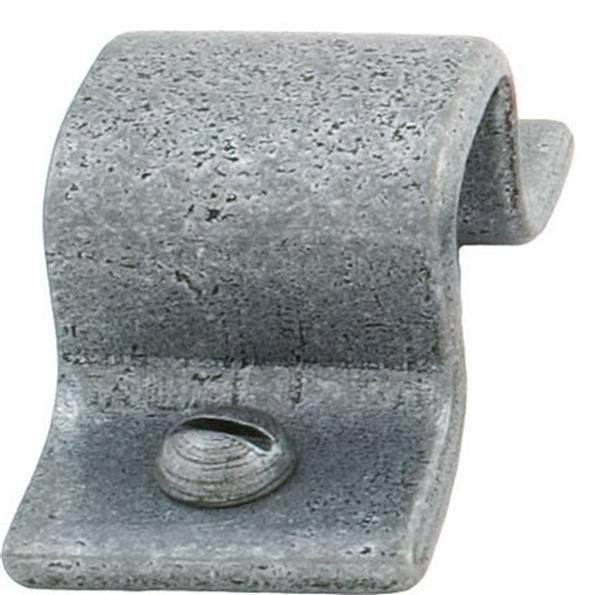 """From The Anvil Pewter Patina Receiver Plate For 4"""" Straight Bolt"""