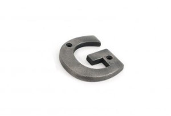 From The Anvil Antique Pewter Letters A-Z