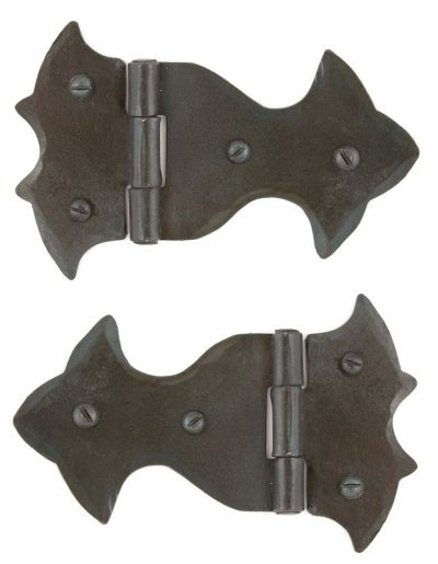 From The Anvil Beeswax Ornate Hinge (pair)