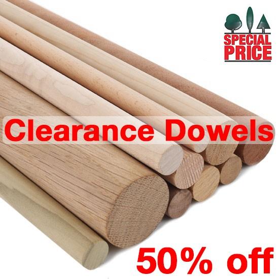 Clearance Dowels