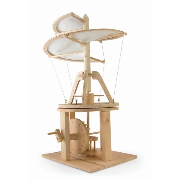 Da Vinci Helicopter Wooden Kit