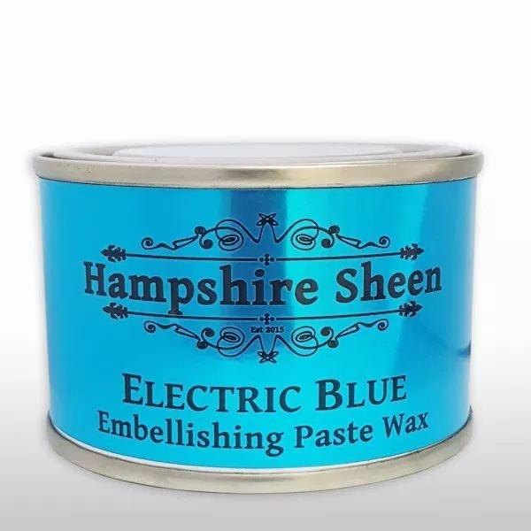 Hampshire Sheen Electric Blue Embellishing Wax