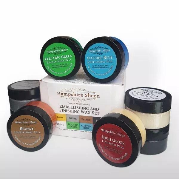 Hampshire Sheen Embellishing and Finishing Wax Sample Set