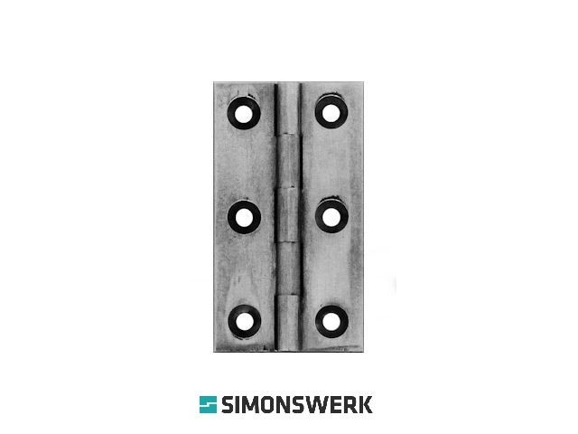 Finesse UK Cabinet Butt Hinge (sold in pairs)