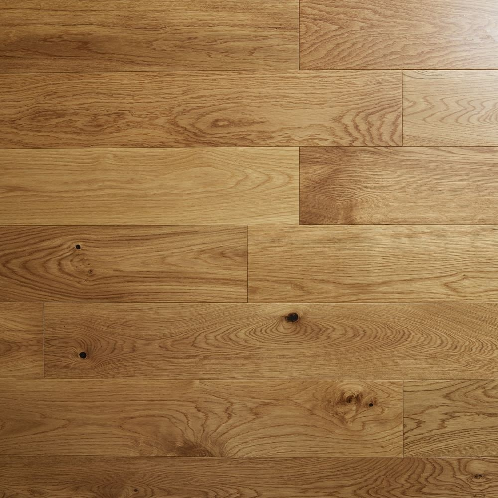 Valencia Oak lacquered 150 x 18mm